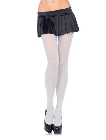 Leg Avenue Lurex tights pink-silver