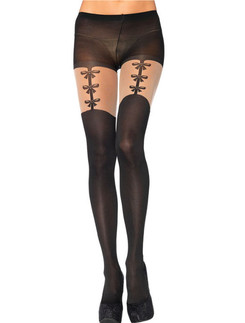 Leg Avenue Garterbelt Effect Tights