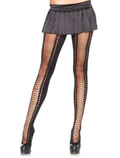Leg Avenue Spandex Lace up Pantyhose