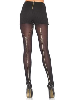 Leg Avenue Zipper Backseam Pantyhose
