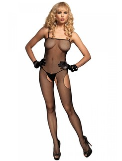 Leg Avenue Suspender Fishnet Bodystocking