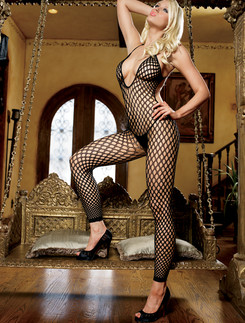 Leg Avenue Halter Neck Footless Bodystocking