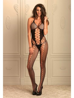 Leg Avenue  Seamless Multinet Bodystocking