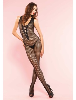 Leg Avenue Crochet Fishnet Bodystocking