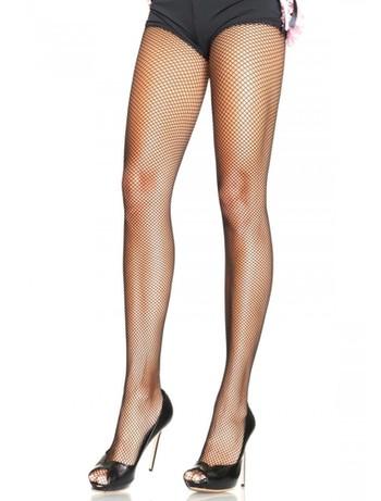 Leg Avenue Plus Size fine Mesh Fishnet Tights black