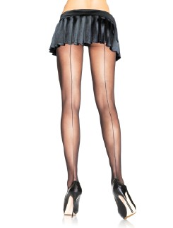 Leg Avenue Sheer Backseam Pantyhose