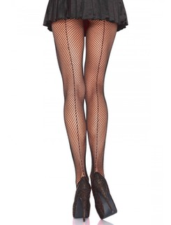 Leg Avenue Fishnet Backseam Pantyhose