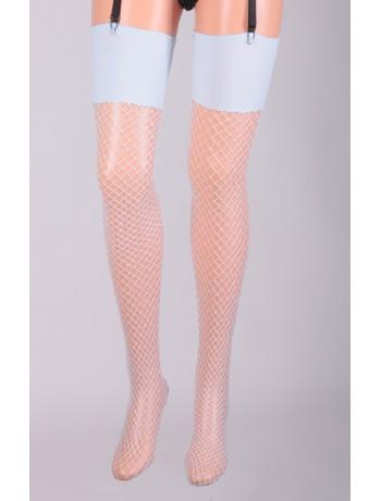 Leg Avenue Industrial Fishnet Stockings baby blue