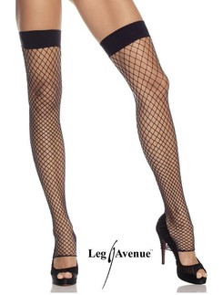 Leg Avenue Footless Net Thigh Highs