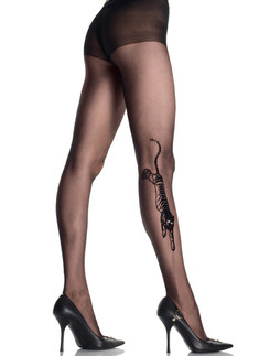 Leg Avenue Tiger Tattoo Tights