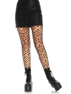 Leg Avenue Bordeaux Net Tights