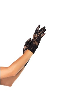 Leg Avenue Wrist Length Lace Gloves