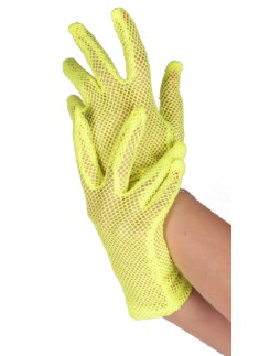 Leg Avenue Fishnet wrist length gloves