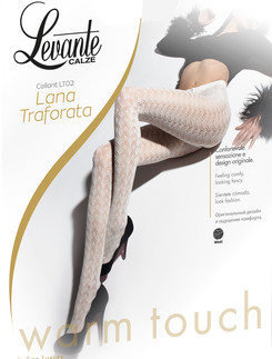 Levante Lana Traforata Warm Touch Wool Tights