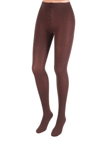 Levante Cotton tights moka