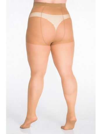 Lida tights Lycra XXL 67-78 inch hips medium beige