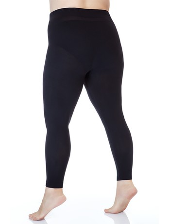 Lida seemless leggings microfibre 140-170cm hips black