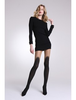 Mura Musical over the knee look tights
