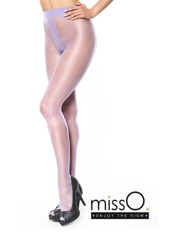 MissO Crotchless Tights light violet