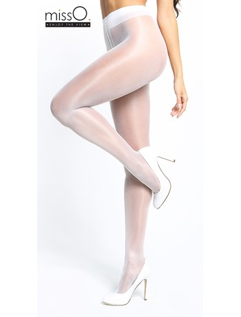 MissO Crotchless Tights white