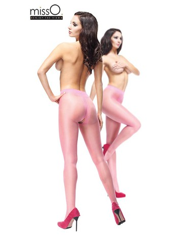 MissO Crotchless Tights light pink