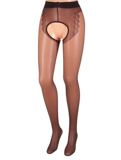 MissO Crotchless Seamed Tights