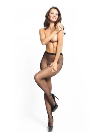 MissO Fishnet open crotch pantyhose