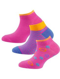 Nur Die Kids Sneaker Socks Triple Pack