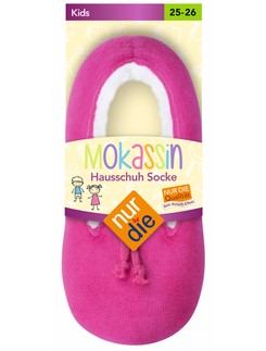 Nur Die Mokassin children home slippers