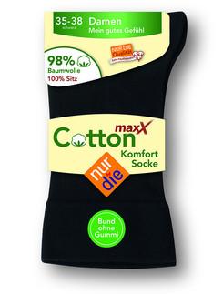 Nur Die Cotton Max Women's Comfort Socks