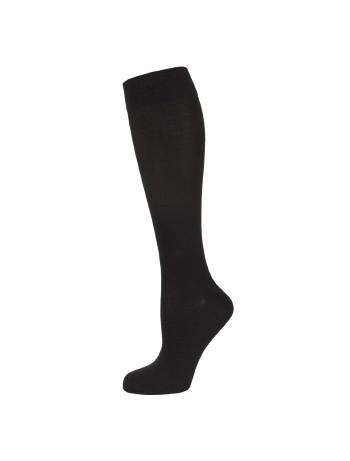 Nur Die Fine Cotton Knee High Socks black