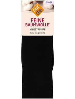 Nur Die Fine Cotton Knee High Socks