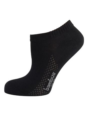 Nur Die Air Comfort Sneaker Socks black