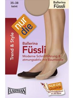 Nur Die Ballerina Footie Socks