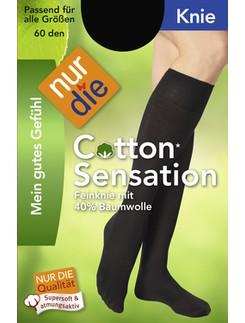 Nur Die Knie Cotton Sensation Knee-highs