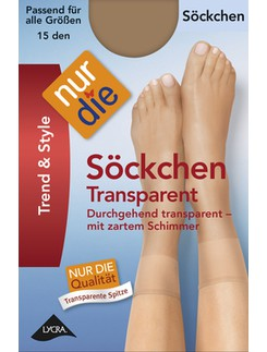 Nur Die Soeckchen Transparent sheer Socks