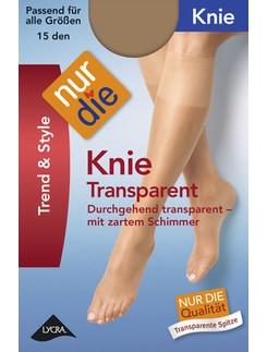 Nur Die Knie Transparent sheer Knee-highs