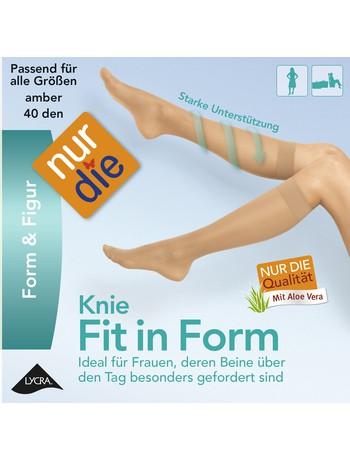 Nur Die Fit in Form Knee-Highs