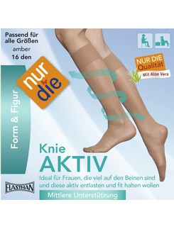 Nur Die Knee Aktive Compression Knee High Socks