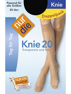 Nur Die 20 Knee High Socks Double Pack