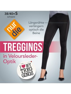 Nur Die Treggings in leather optic