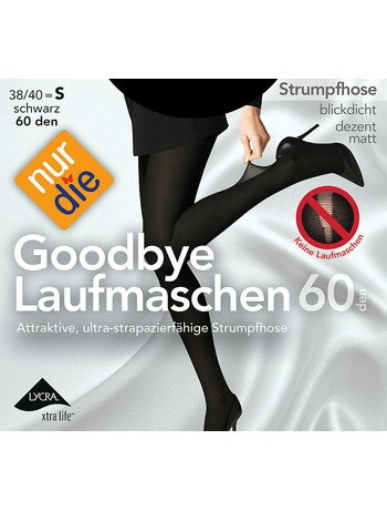 Only The Goodbye Running Knit 60 Pantyhose black