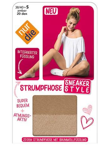 Nur Die Sneaker Style Strumpfhose mit Füssling