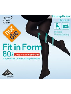 Nur Die Fit in Form 80 opaque tights