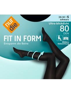 Nur Die Fit in Form 80 opaque tights