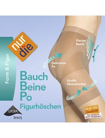 NurDie Bauch-Beine-Po shaping shorts