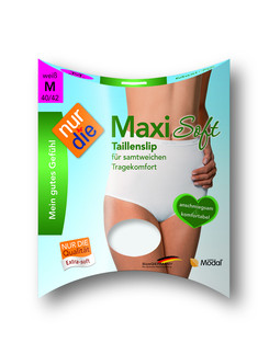 Nur Die Maxi Soft High Waist Brief