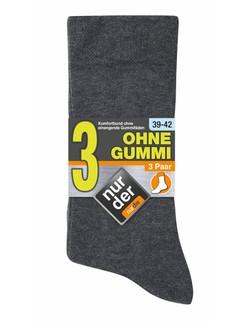 Nur Der 3 Pack Soft Top Socks for Men