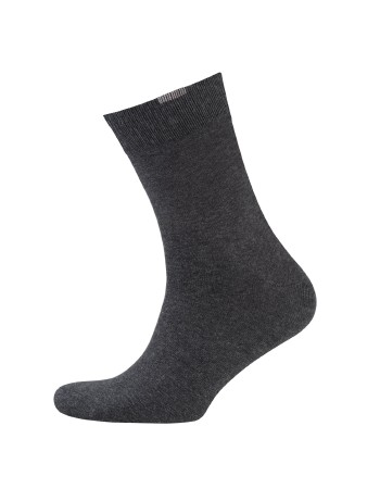 Nur Der Perfect Fit Men's Socks Triple Pack anthracitemel