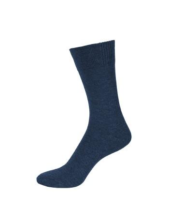 Nur Der Bamboo Socks for Men jeans mel.